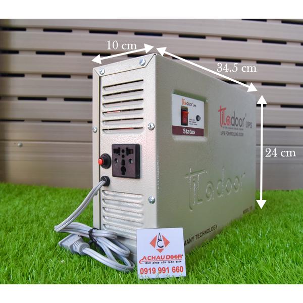 Kích thước Bình lưu điện Titadoor TU5 - 7.5Ah
