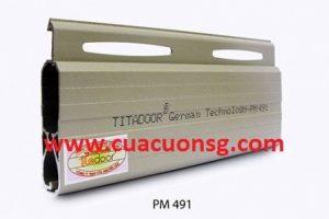 Cửa cuốn Đức Titadoor PM491